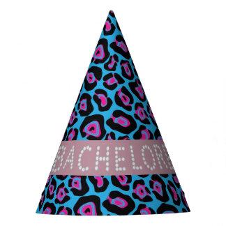 Chapéus azuis/cor-de-rosa de Bachelorette do