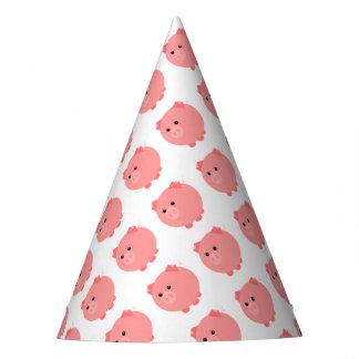 Chapéus carnudos bonitos do partido do porco