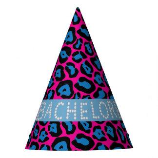 Chapéus cor-de-rosa/azuis de Bachelorette do