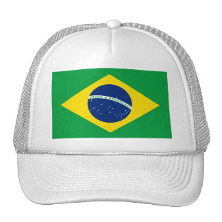 Chapéus da bandeira de Brasil Bones