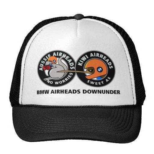 CHAPÉUS de Downunder dos Airheads de BMW Bones