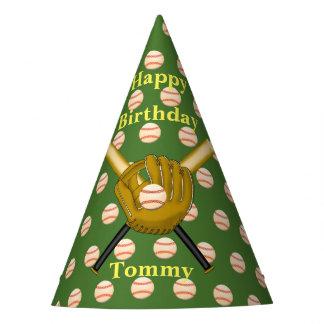 Chapéus de papel do basebol