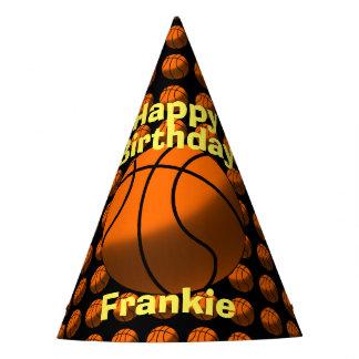 Chapéus de papel do basquetebol