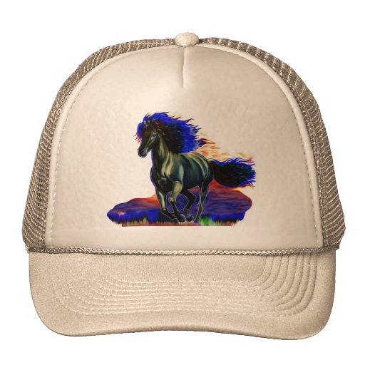 Chapéus do cavalo do metal bonés