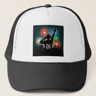 Chapéus do costume do DJ da música Boné