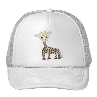 Chapéus do girafa do bebê boné
