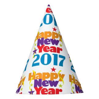 Chapéus do partido do feliz ano novo 2017