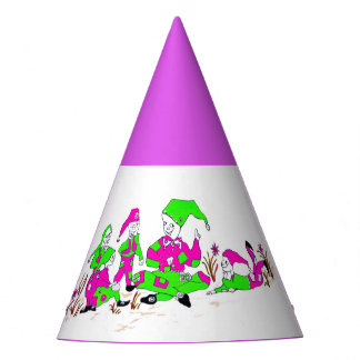 Chapéus do partido para crianças