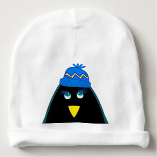 Chapéus engraçados da criança do Natal do pinguim Gorro Para Bebê