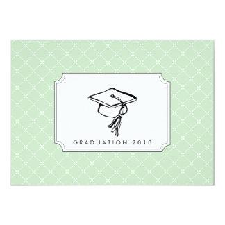 {chapéus fora a você} convite da graduação convite 12.7 x 17.78cm