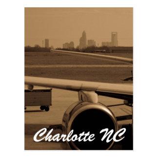 Charlotte NC Cartão Postal