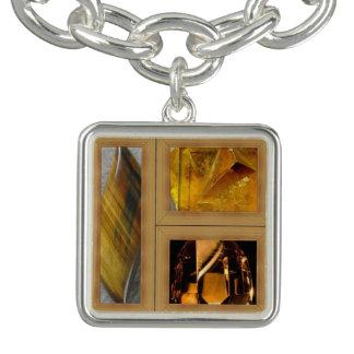 Charm Bracelet Amarelo quatro