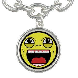 Charm Bracelet Cara de LOL