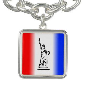 Charm Bracelet Estátua da liberdade New York