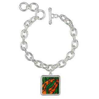 Charm Bracelet Geco