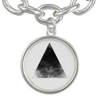 Charm Bracelets Black Triangle