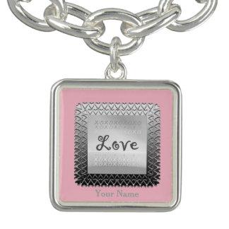 Charm Bracelets braclet do amor
