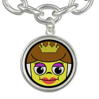 Charm Bracelets Cara da rainha