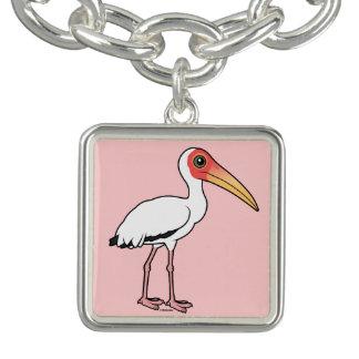 Charm Bracelets Cegonha leitosa de Birdorable