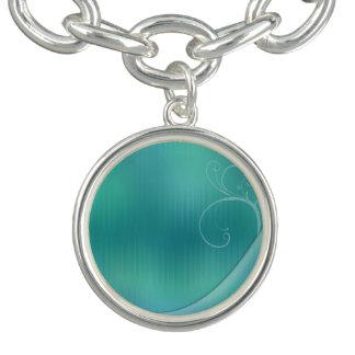 Charm Bracelets Design Pastel de turquesa