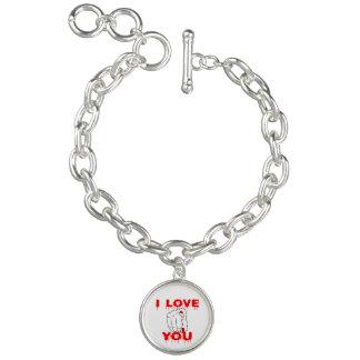 Charm Bracelets Eu te amo