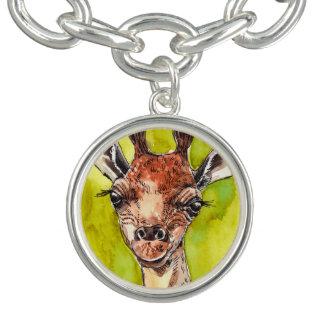 Charm Bracelets Girafa