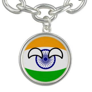 Charm Bracelets India Geeky de tensão engraçado Countryball