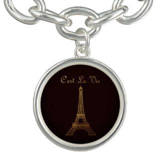 Charm Bracelets Paris: O La de C'est Vie o ESTILO OPTIONS* do