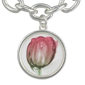 Charm Bracelets Tulipa vermelha