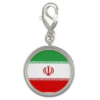 Charm Com Foto Bandeira de Irã