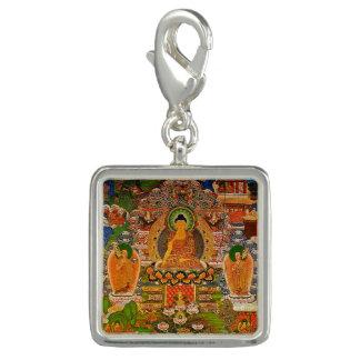 Charm Com Foto Budismo budista de Buddha que abençoa o Bohemian
