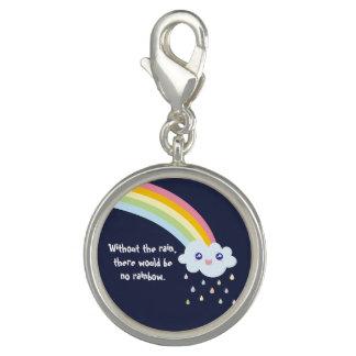 Charm Com Foto Citações inspiradas famosas do arco-íris bonito de