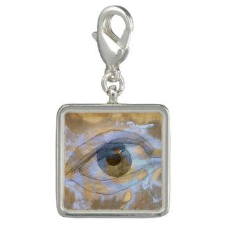 Charm Com Foto Encante o olho misturado com a luz - textura de