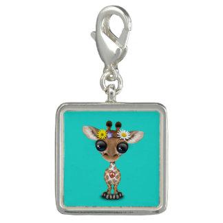 Charm Com Foto Hippie bonito do girafa do bebê