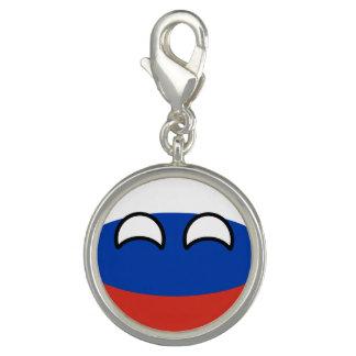 Charm Com Foto Rússia Geeky de tensão engraçada Countryball