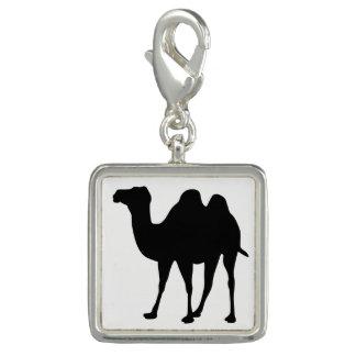 Charm Com Foto Silhueta do camelo