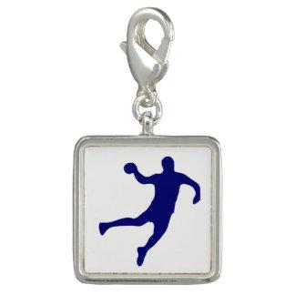 Charm Com Foto Silhueta do handball