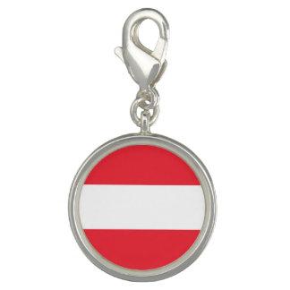 Charms Com Foto Bandeira austríaca patriótica