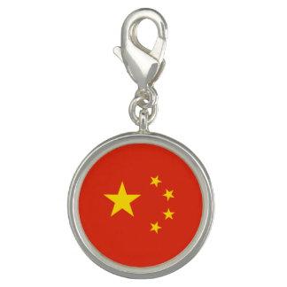 Charms Com Foto Bandeira chinesa patriótica