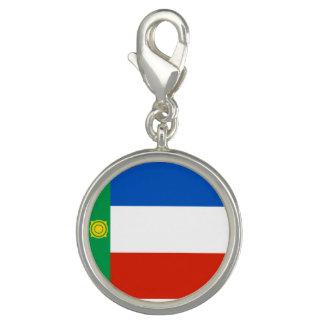 Charms Com Foto Bandeira de Khakassia