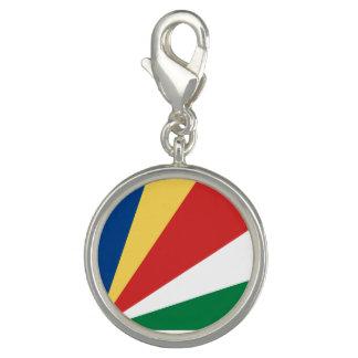 Charms Com Foto Bandeira de Seychelles