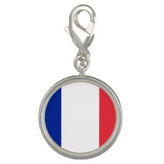 Charms Com Foto Bandeira francesa patriótica