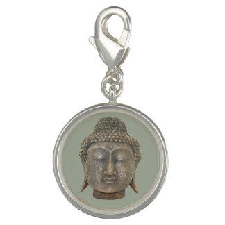 Charms Com Foto Cabeça de Buddha