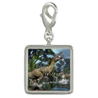 Charms Com Foto Dinossauro de Austroraptor