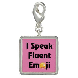 Charms Com Foto Fale Emoji fluente