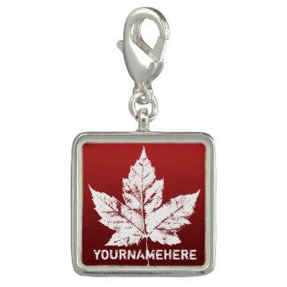 Charms Com Foto Jóia legal da lembrança de Canadá do costume dos