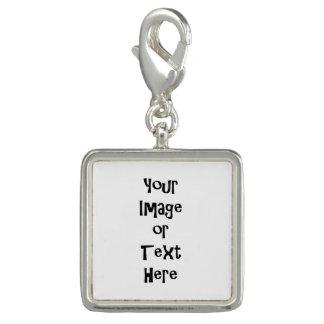 Charms Com Foto Personalize com imagens e texto personalizados