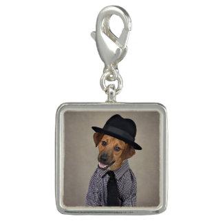 Charms Com Foto Projeto de animais de estimação do abrigo - Bubba