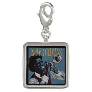 Charms Com Fotos Encanto/wristlet da música de Nova Orleães