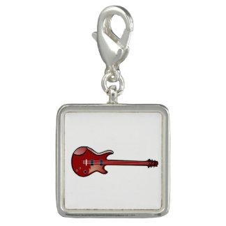 Charms Com Fotos Guitarra baixa